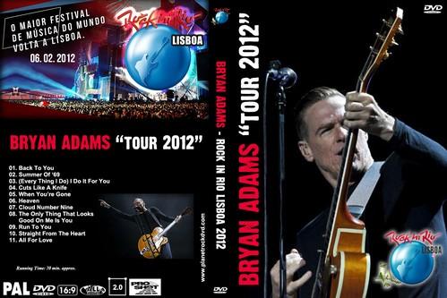 Planetrockdvd website rare rock concert dvd 39 s classic rock - Bryan adams room service live in lisbon ...